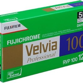 Fujichrome film Velvia RVP 100-120×5