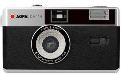 Agfaphoto filmikaamera 35mm, must