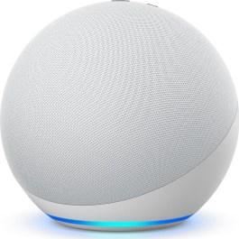 Amazon Echo 4, glacier white