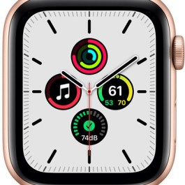 Apple Watch SE GPS + Cellular 44mm Sport Loop, gold/maize/white (MKT23EL/A)