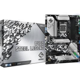 Mainboard ASROCK Intel B460 Express LGA1200 ATX 2xPCI-Express 3.0 1x 2xPCI-Express 3.0 16x 1xM.2 Memory DDR4 Memory slots 4 1xHDMI 1xDisplayPort 2xAudio-In 3xAudio-Out 2xUSB 2.0 1xUSB type C 3xUSB 3.2 1xPS/2 1xOptical S/PDIF 1xRJ45 B460STEELLEGEND