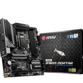 Mainboard|MSI|Intel B460 Express|LGA1200|MicroATX|1xPCI-Express 3.0 1x|2xPCI-Express 3.0 16x|2xM.2|Memory DDR4|Memory slots 4|1xHDMI|1xDisplayPort|2xUSB 2.0|1xUSB type C|2xUSB 3.2|1xPS/2|1xOptical S/PDIF|1xRJ45|5xAudio port|MAGB460MMORTAR