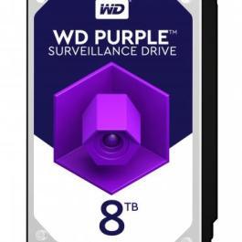 HDD|WESTERN DIGITAL|Purple|8TB|SATA 3.0|256 MB|7200 rpm|3,5″|WD82PURZ