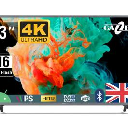 TV Set GAZER 43″ 4K/Smart 3840×2160 Wireless LAN Bluetooth Android Graphite TV43-US2G