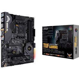 Mainboard|ASUS|AMD X570|SAM4|ATX|2xPCI-Express 1x|2xPCI-Express 16x|2xM.2|Memory DDR4|Memory slots 4|1xHDMI|1xDisplayPort|1xUSB type C|6xUSB 3.2|1xPS/2|1xOptical S/PDIF|1xRJ45|5xAudio port|TUFGAMX570-PLUS(WI-FI)