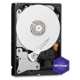 HDD|WESTERN DIGITAL|Purple|2TB|SATA 3.0|64 MB|5400 rpm|3,5″|WD20PURZ
