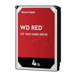 HDD|WESTERN DIGITAL|Red|4TB|SATA 3.0|256 MB|5400 rpm|3,5″|WD40EFAX