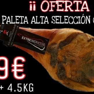 Oferta Paleta Alta Selección Gourmet