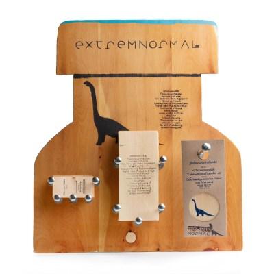 extremnormal® Flyer Edelstahl Trinkwasserflaschen Handgraviert Zirbenwechselcodes