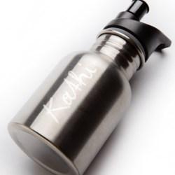 extremnormal® Trinkwasserflasche #2 inklusive Handgravur