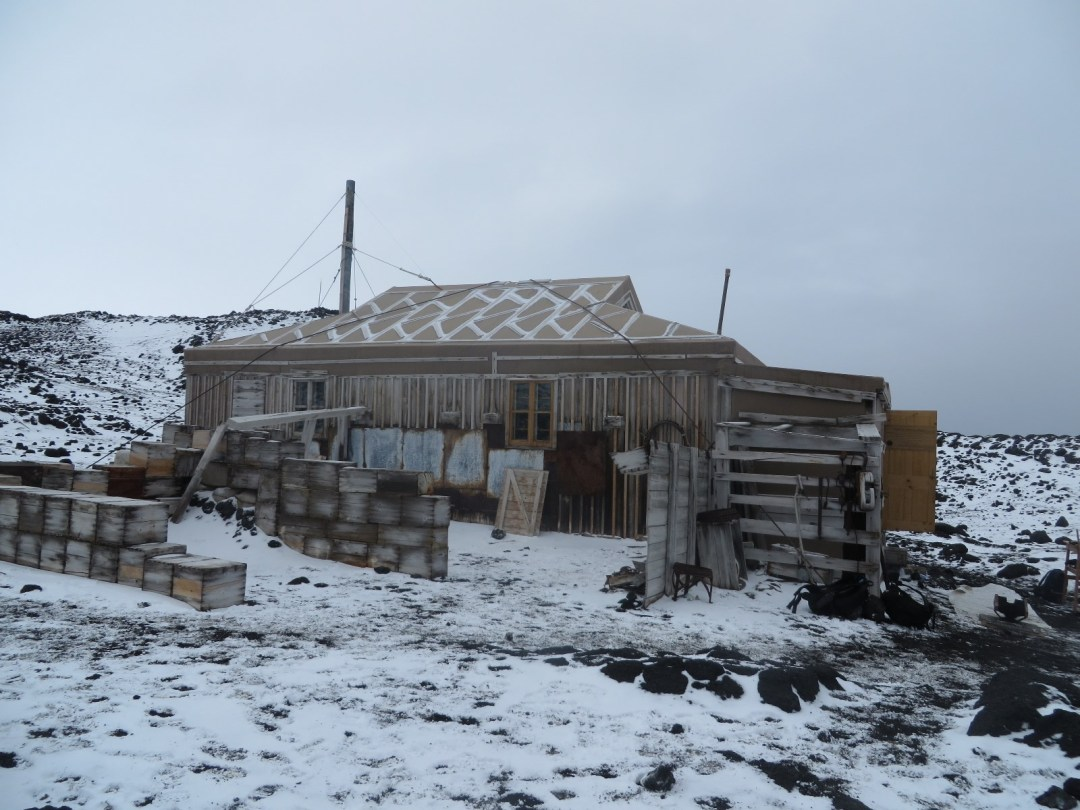 Shackleton's Hut at Cape Royds
