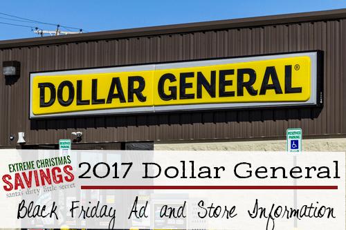 Dollar General Black Friday Secrets Ad Online Sale And