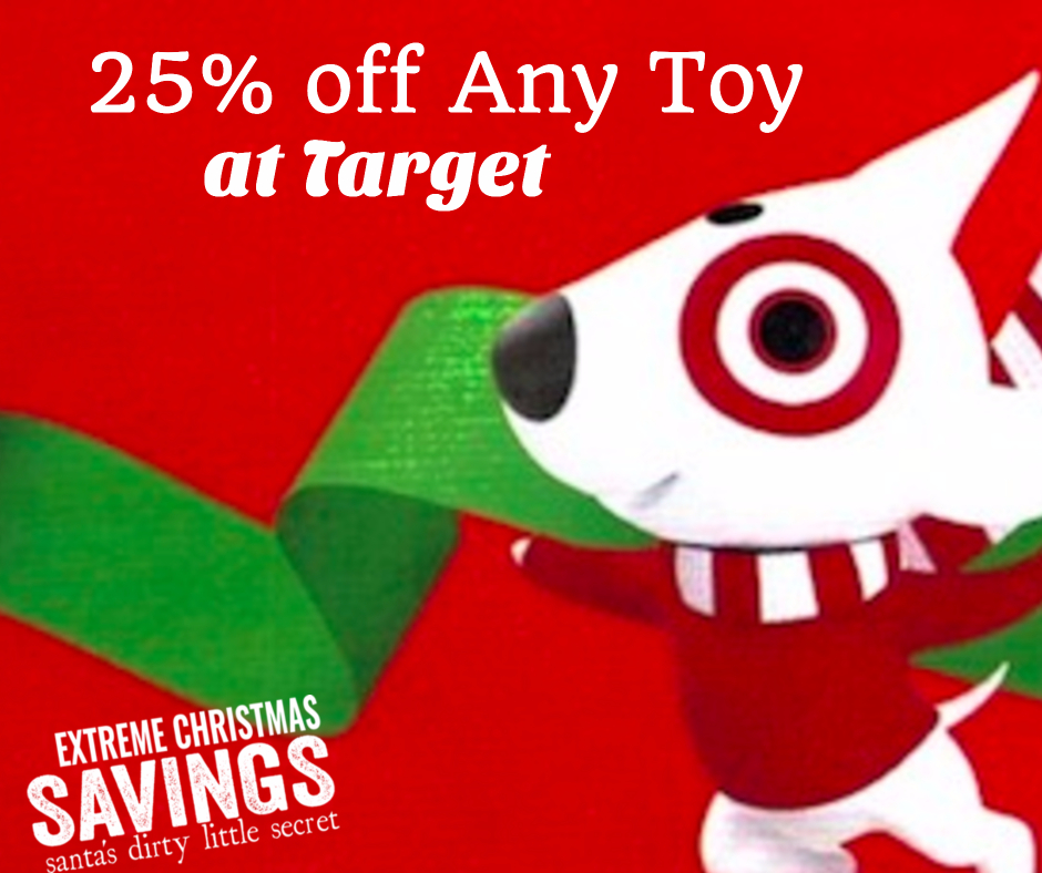 LAST DAY Target Extra 25 Off Of Any Toy GREAT Deals