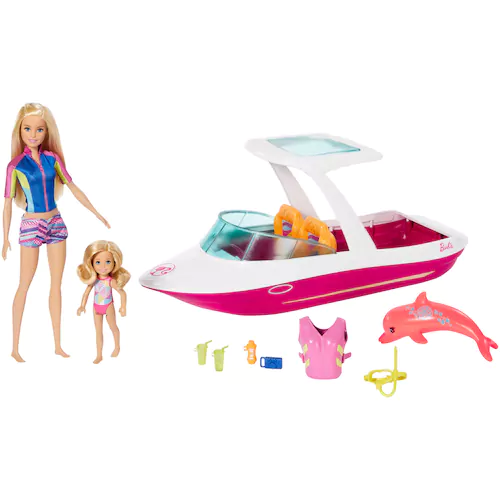 2799 Was 7999 Barbie Dolphin Magic Ocean View Boat