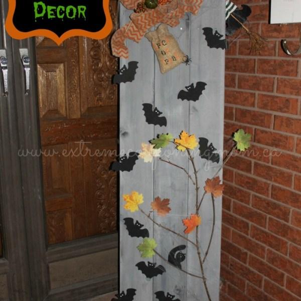 DIY Frugal Fun Halloween Decor Tutorial