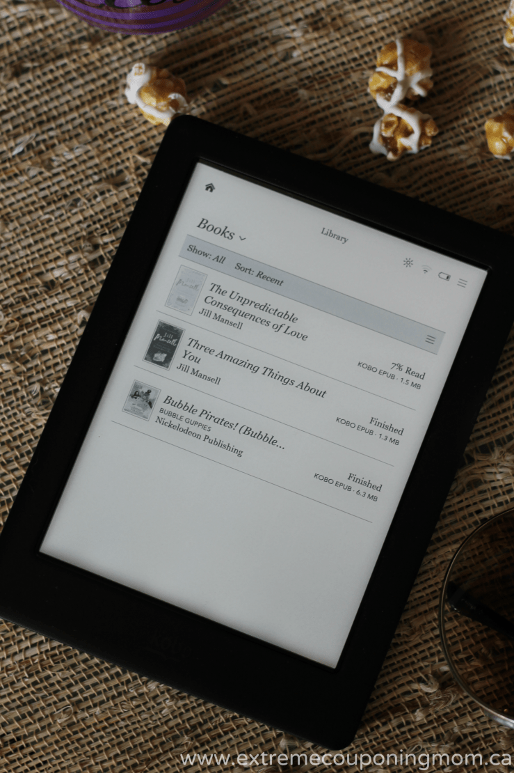 Kobo Glo HD Review_Books