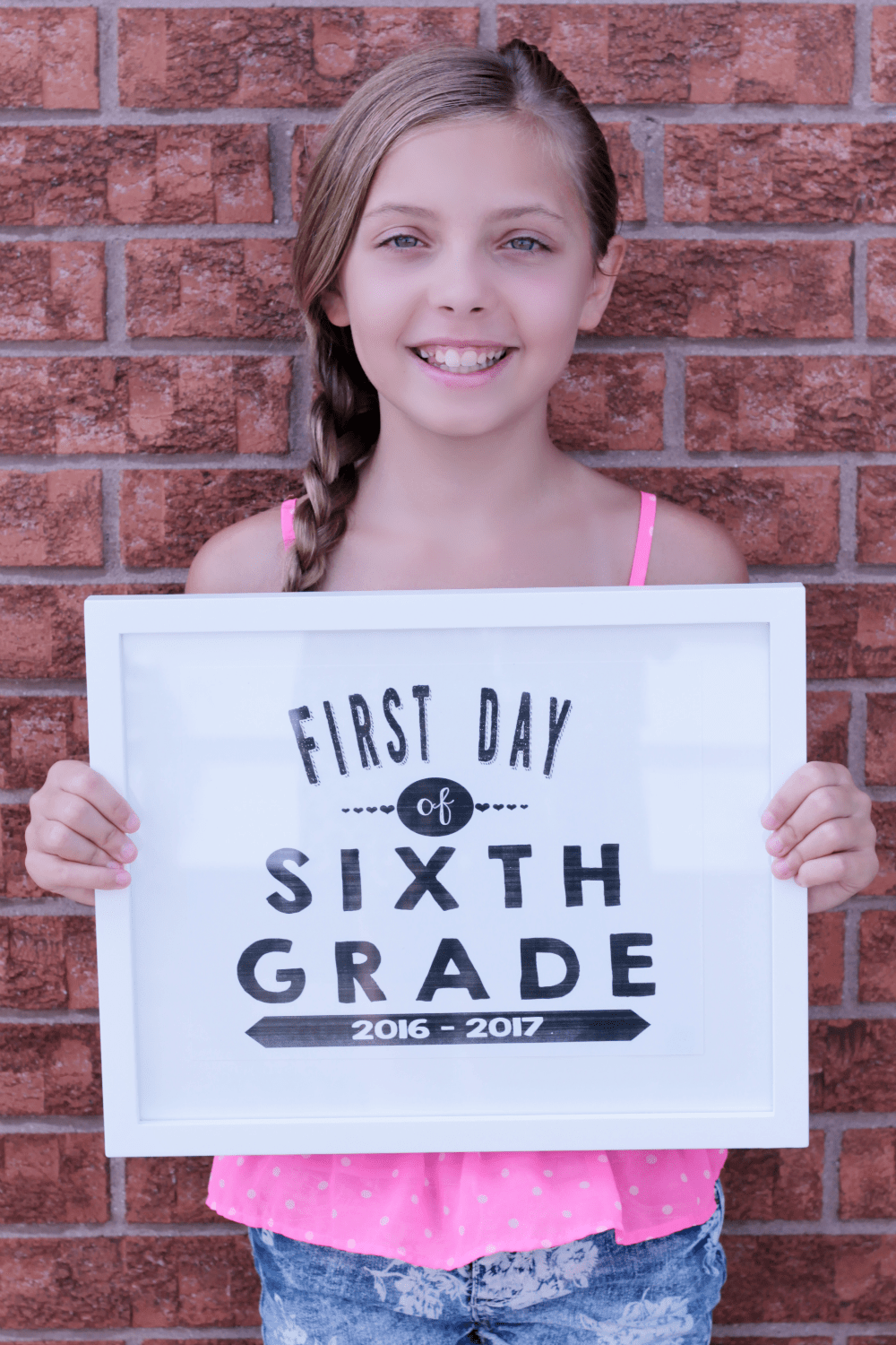 Back To School Printable Signs