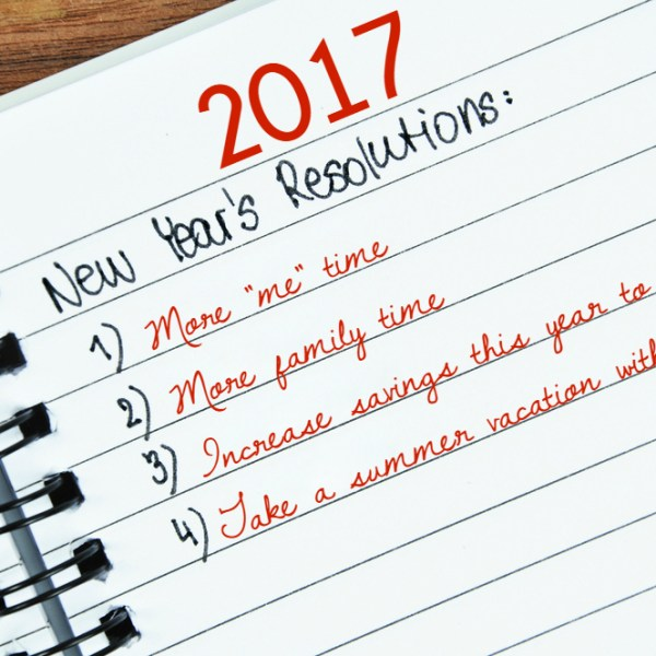 New Year's Resolutions You Can Keep