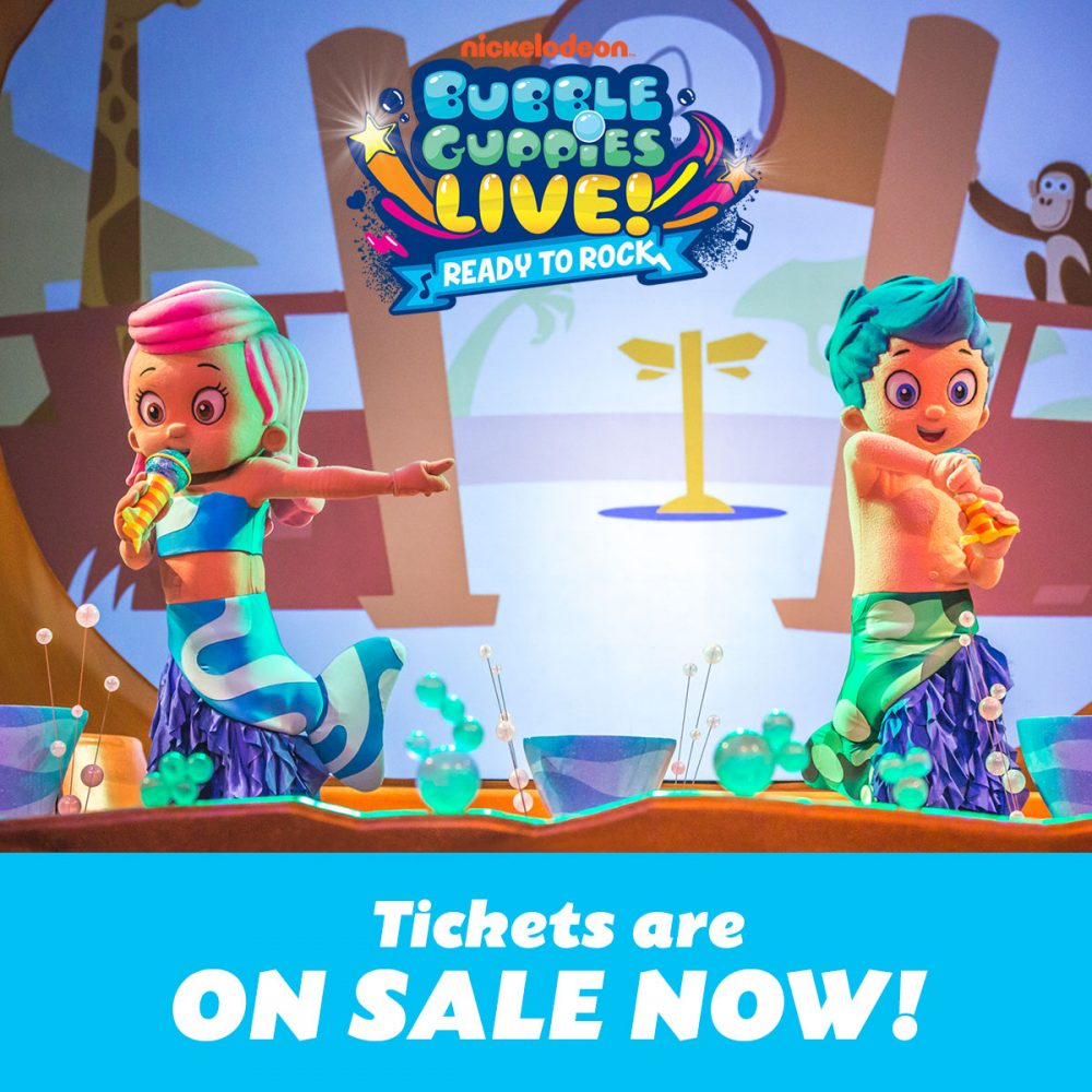 Bubble Guppies Live Ready To Rock