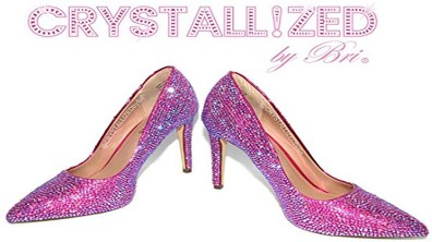 Swarovski High Heel Shoes. Heels