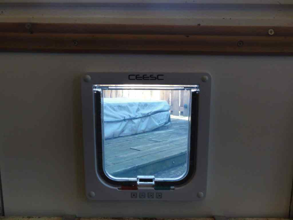 Finished Car Door In Window Inside View