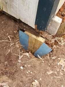 Shed Foundation Footer Sheet Metal Dams