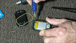 Removing the GoPro Remote Circuit Board