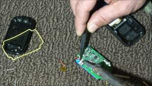Soldering New Battery Wires to Circuit Board