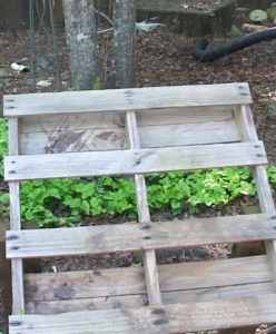 Pallet for Hydroponics System