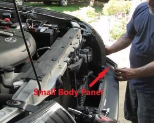 Small Body Panel