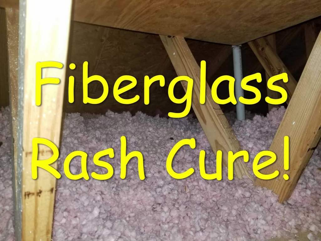 Fiberglass Rash Cure