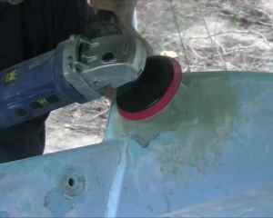 Sanding Fairing Compound