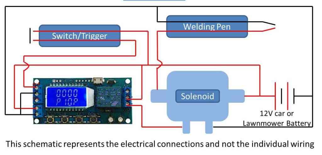 spot welder schematic