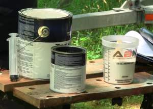 totalboat epoxy barrier paint mix