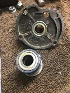 New Seals On Lower Unit Gearcase and Bearing Housing
