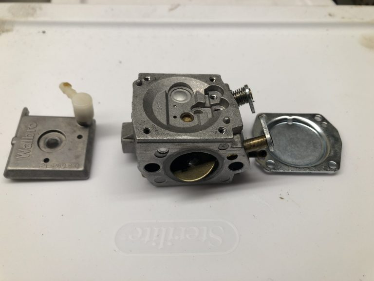 Cleaned Carburetor Parts