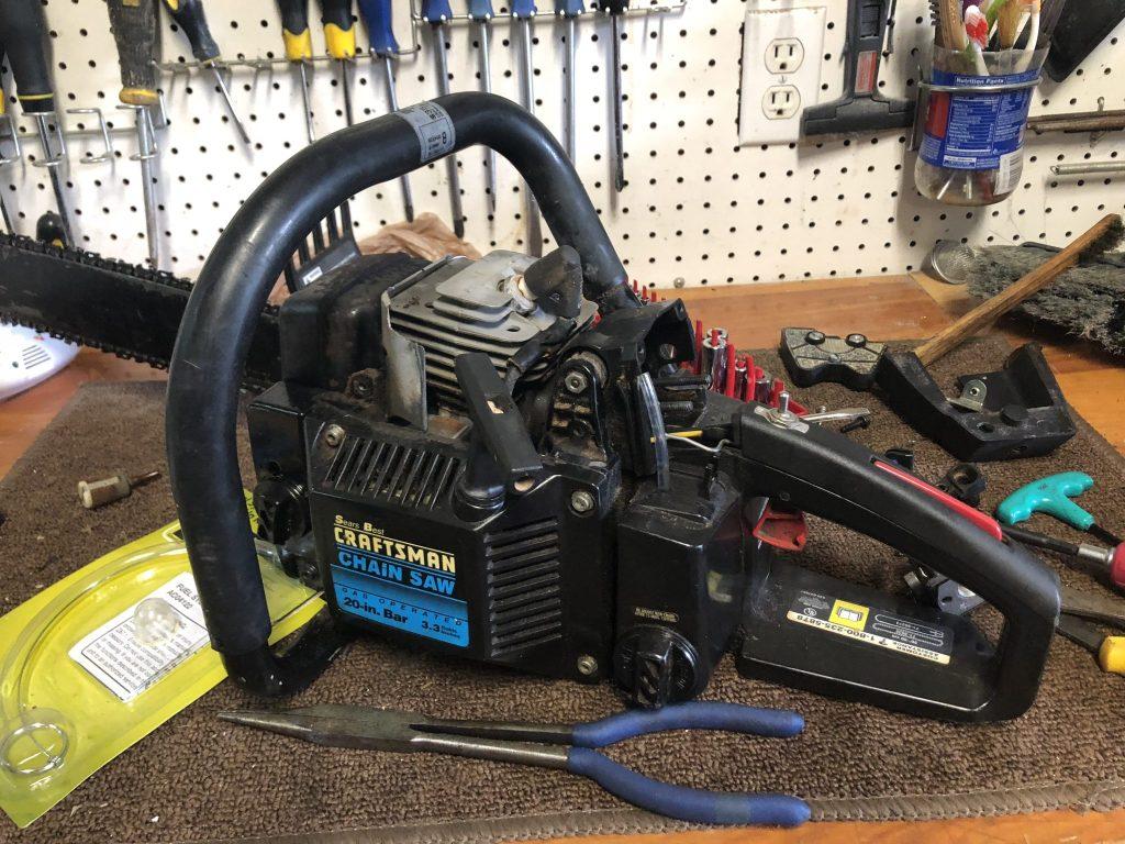 """Craftsman 20"""" Chainsaw Restoration"""
