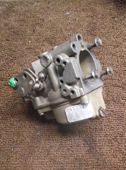 Rebuilt Johnson Outboard Carburetor