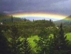 Rainbow in Montana with Mellisa