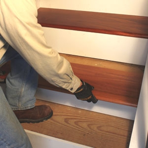 Remodel With Prefinished Stair Treads Extreme How To   Prefinished Retro Stair Treads   Maple   Stair Nosing   Red Oak   Brazilian Cherry   Risers
