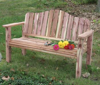 diy wooden garden bench plans