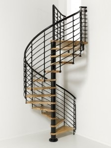 How To Build A Spiral Staircase Extreme How To   Steel Ladder Design For Home   Wrought Iron   House   Residential   Interior   Contemporary