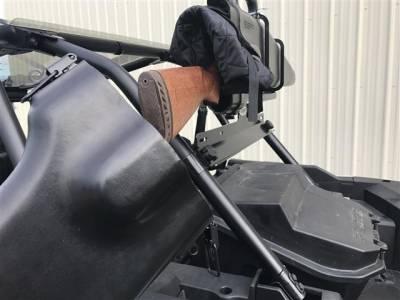 polaris rzr gun boot and rack