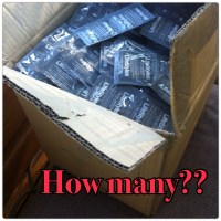 Guess how many... CONDOMS