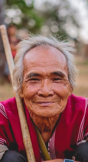 Old grin - Capturing the human heart