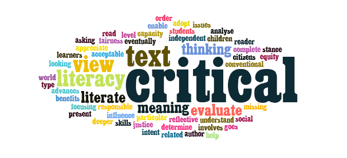Moving ahead with critical literacy