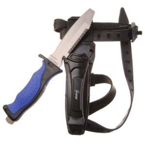 Seavenger Titanium Dive Knife & Knife Strap
