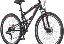 Photo of the Schwinn S29 red and black model