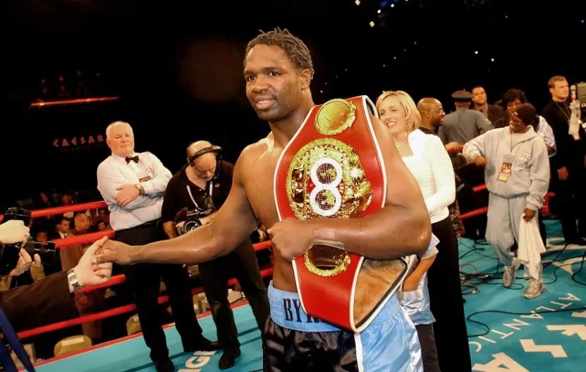 heavyweight champ Chris-Byrd