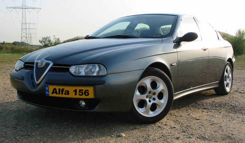 Alfa Romea 156 Selespeed, 2006 European Car of the Year